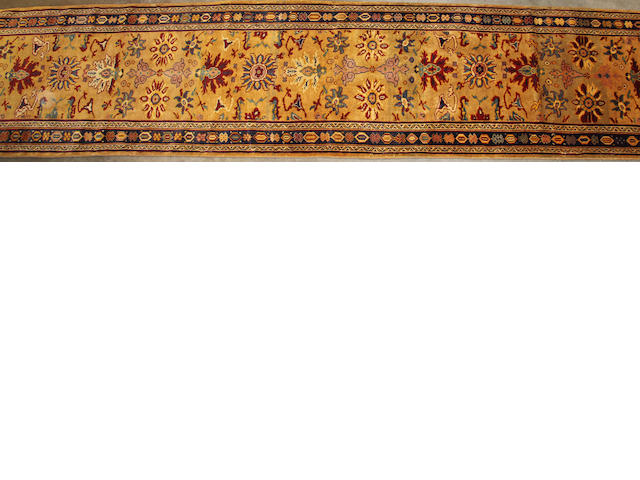 Mahal Runner size approximately 3ft. 5in. x 16ft. 3in.