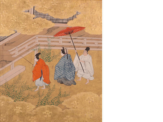 Tosa School (18th Century) Scenes from the Tale of Genji