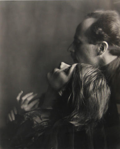 Imogen Cunningham (American, 1883-1976); Edward Weston and Margrethe Mather;