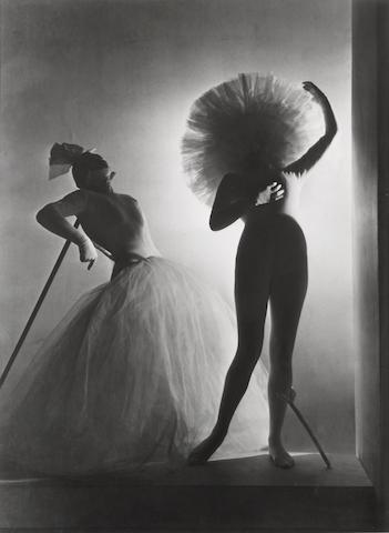 Horst P. Horst (German/American, 1906-1999); Dalí Costumes, Paris;