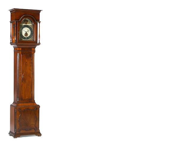 A Chippendale walnut tall case clock<br>George Woltz, Hagerstown<br>late 18th century