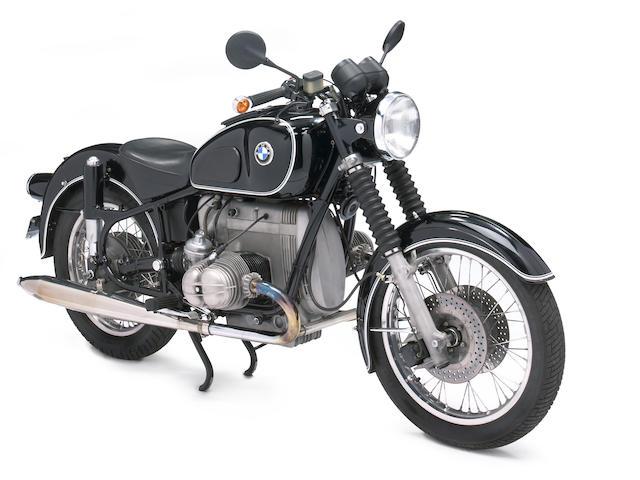 1967 BMW R50/2 Frame no. 1810573 Engine no. 6170446