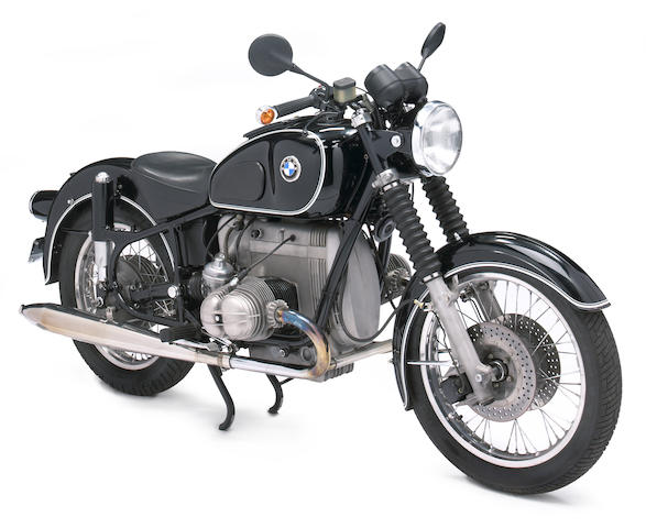 Powered by an R100/7 motor,1967 BMW 980cc R60/2 Frame no. 1810573 Engine no. 6170446