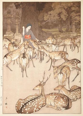 Hiroshi Yoshida (1876-1950) One woodblock print
