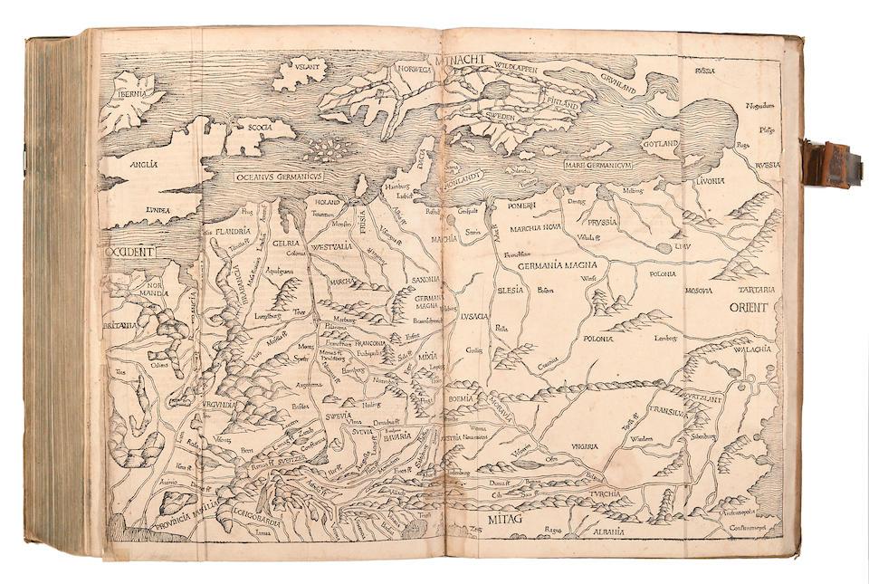 SCHEDEL, HARTMANN. 1440-1514. Liber chronicarum. Nuremberg: Anton Koberger, for Sebald Schreyer and Sebastian Kammermeister, July 12 1493.