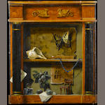 William Ward Beecher (American, 1921-2006) Collector's cabinet 24 x 20in