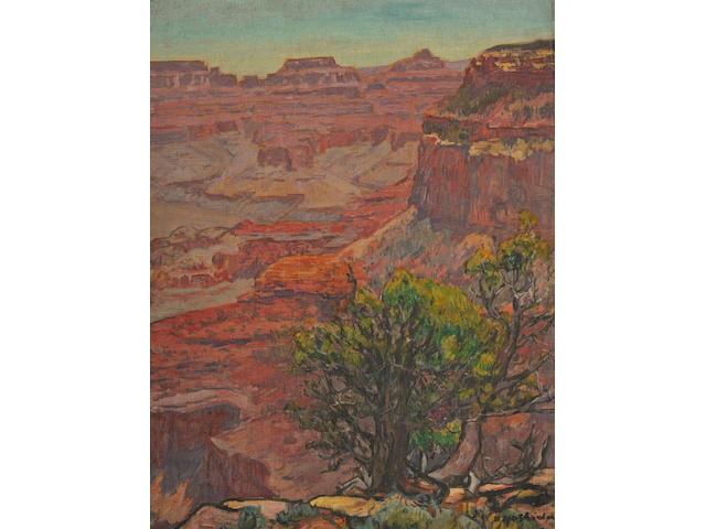 Yoshida Hiroshi (1876-1950)<br>Grand Canyon, 1924