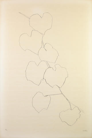 Ellsworth Kelly (American, born 1923); Grape Leaves II;