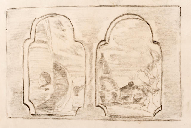 Nicolai Roerich six drawings
