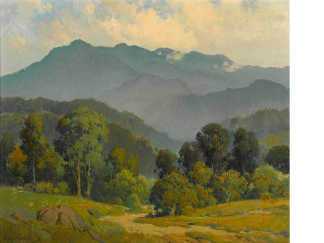Percy Gray, Mount Tamalpias, oil on canvas.