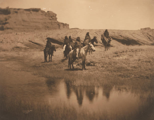Edward S. Curtis (American, 1868-1952); An Oasis, Navajo;