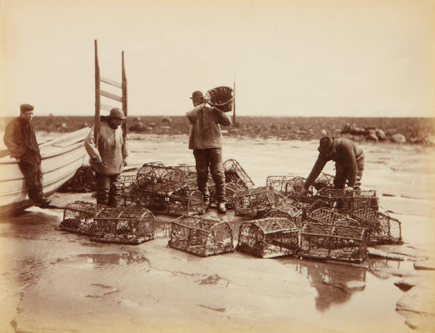 Frank Meadow Sutcliffe (British, 1853-1941); Crab Pots;