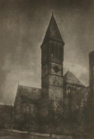 Marguerite E. Dewitt (American); Untitled (Steeple) (2); (2)