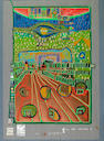 Friedensreich Hundertwasser (Austrian, 1928-2000); Look at it on a rainy day (Regentag Portfolio); (10)