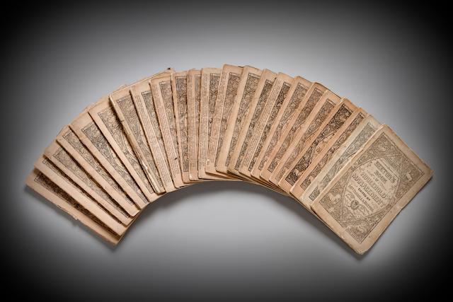 BEETON, ISABELLA. 1836-1865. Beeton's Book of Household Management. London: S.O. Beeton, [1859-1861].