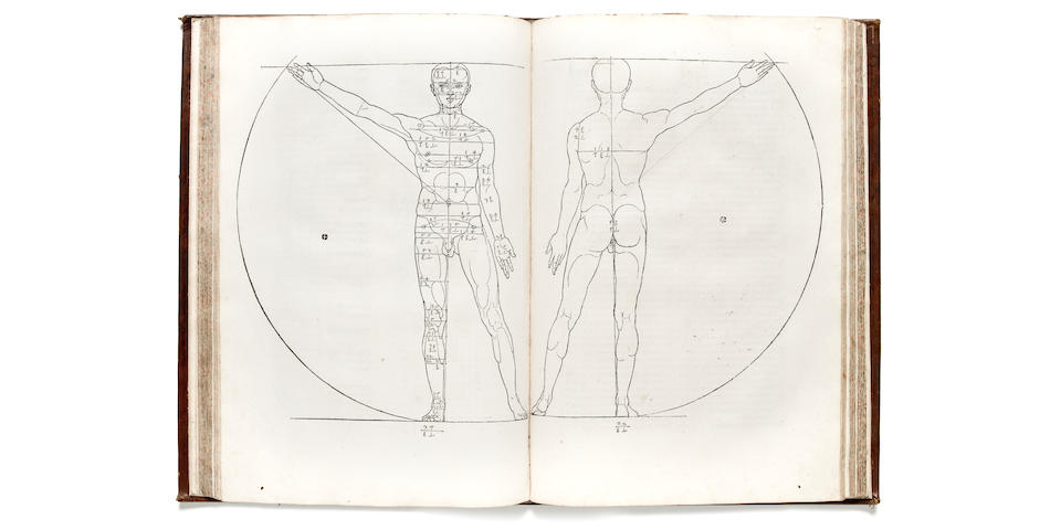 DÜRER, ALBRECHT. 1471-1528. Hierinn sind begriffen vier Bücher von menschlicher Proportion. Nuremberg: Hieronymus Andreae Formschneider for the widow Dürer, October 31, 1528.