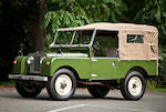 "1957 Land Rover Series 1 88"" Four Wheel Drive Utility  Chassis no. 114703579"