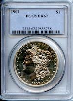 1903 $1 Proof 62 PCGS