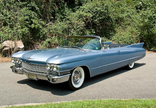 1960 Cadillac Series 62 Convertible  Chassis no. 60F07 8987