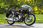 1969 Velocette Thruxton Frame no. RS19381 Engine no. VMT598