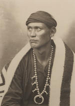 Adam Clark Vroman (American, 1856-1916); Images of Navajo Men; (2)