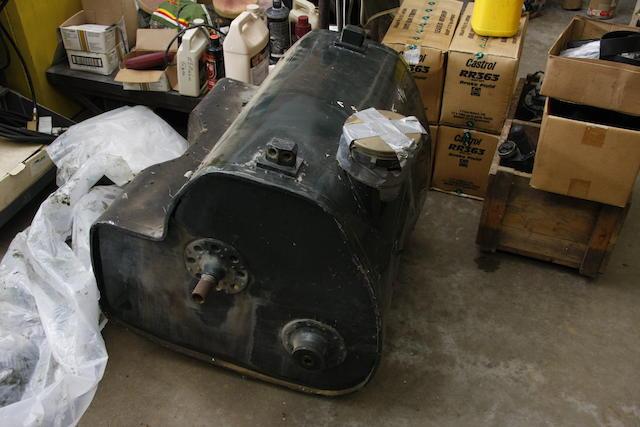 A 'Works Type' Bentley Speed Six fuel tank,