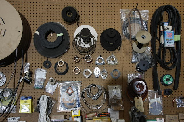 A large assortment of Rolls-Royce and Bentley work shop spares,