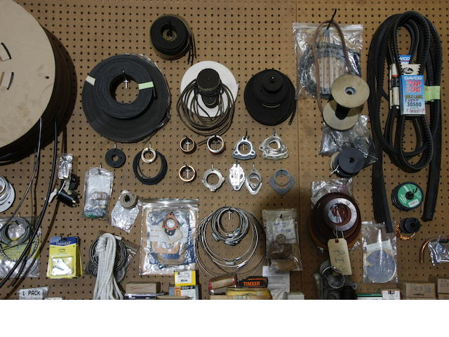A large assortment of Rolls Royce and Bentley work shop spares,