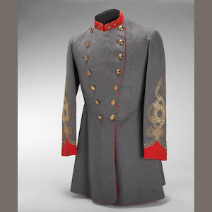 An historic Confederate uniform grouping of Lt. Col. Richard Snowden Andrews, founder of the Maryland Light Artillery