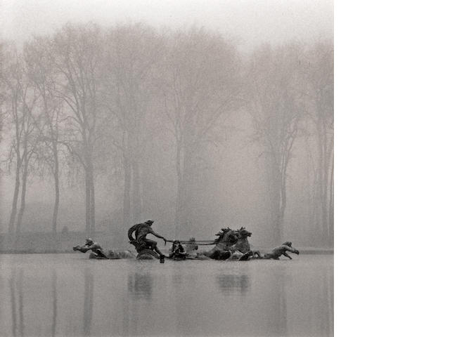 Michael Kenna (British/American, born 1953); Chariot of Apollo, Study 2, Versailles, France;