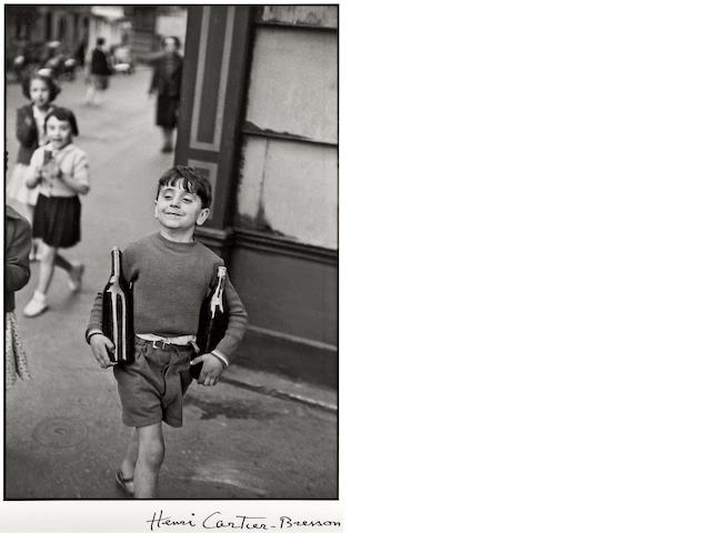 Henri Cartier-Bresson (French, 1908-2004); Rue Mouffetard;