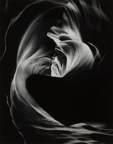 Bruce Barnbaum (American, born 1943); and Zeke Berman (American, born 1951) Circular Chimney, Antelope Canyon; Entrance Drapery, Antelope Canyon; Untitled (Abstraction); (3)