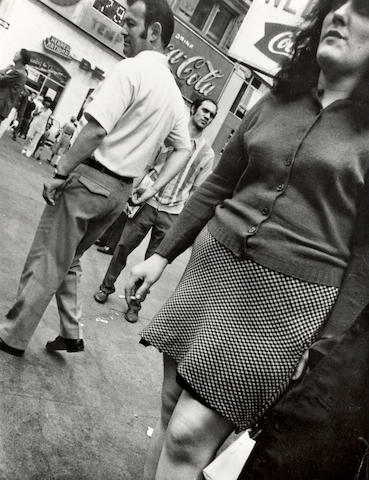 Leon Levinstein (American, 1913-1988); Times Square 59;