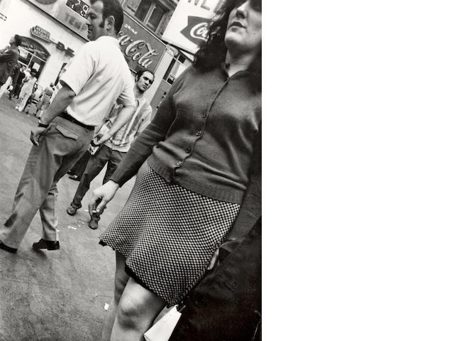 Leon Levinstein (American, 1913-1988); Times Square 59;