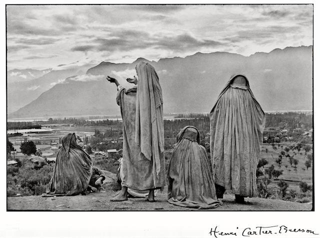 Henri Cartier-Bresson (French, 1908-2004); Srinagar, Kashmir;