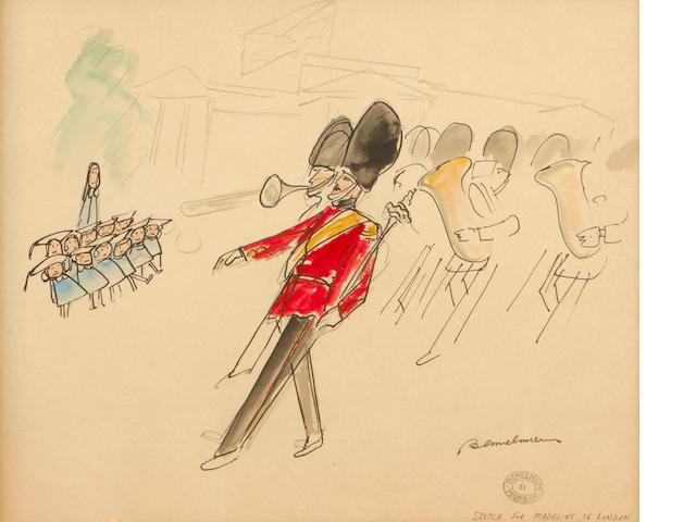 Bemelmans, Madeline Sketch