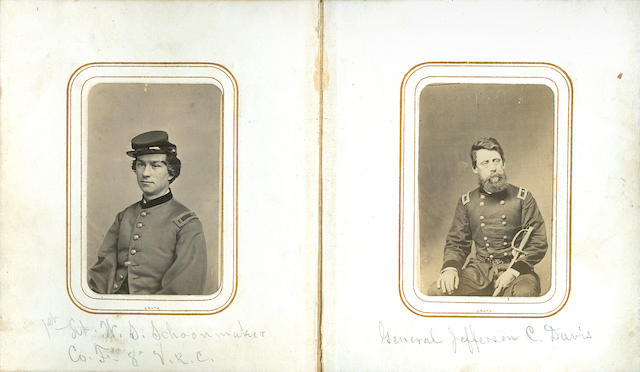 CIVIL WAR—VETERANS RESERVE CORPS. Archive of material relating to Captain James M. Tracy of the 8th Illinois Veterans Reserve Corps,