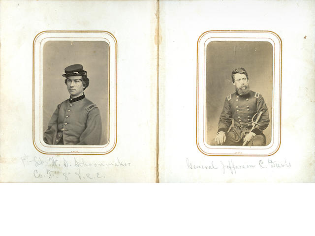 CIVIL WAR--VETERANS RESERVE CORPS. Archive of material relating to Captain James M. Tracy of the 8th Illinois Veterans Reserve Corps, including: