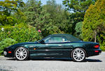 28,750 miles from new,2000 Aston Martin DB7 Vantage Convertible  Chassis no. SCFAB4232YK400155 Engine no. AM2/00155