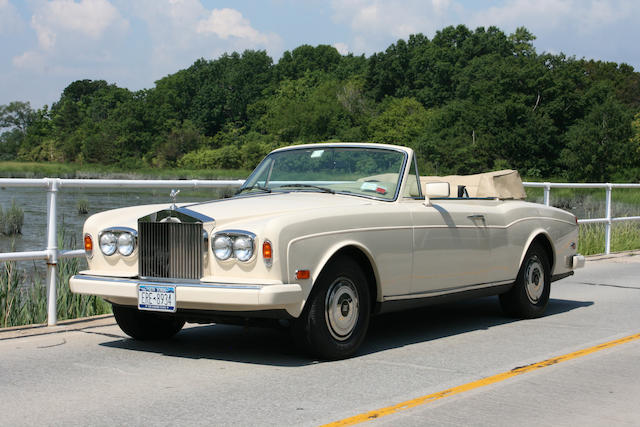 38,850 miles from new,1987 Rolls-Royce Corniche II Convertible  Chassis no. SCAZD42A0 HCX 16889 Engine no. 16889