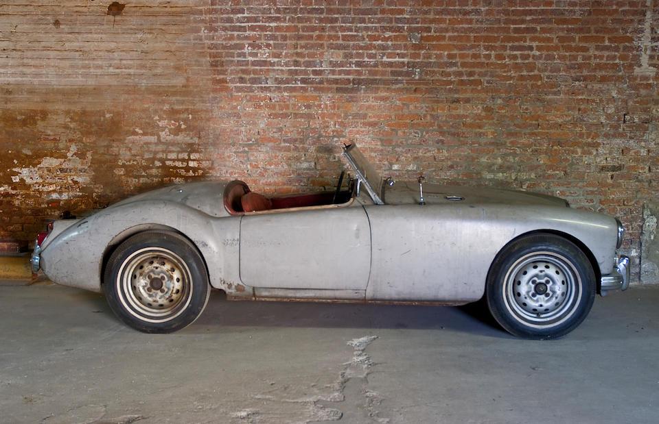 Barn discovery,1959 MGA Roadster  Chassis no. GHNL/73395 Engine no. 16GA/U/4662