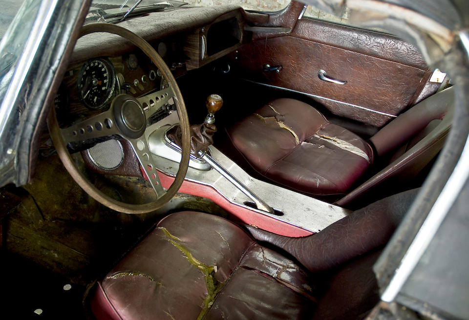 Barn discovery,1963 Jaguar E Type 3.8 Liter Roadster  Chassis no. 879060 Engine no. RA 1138-9