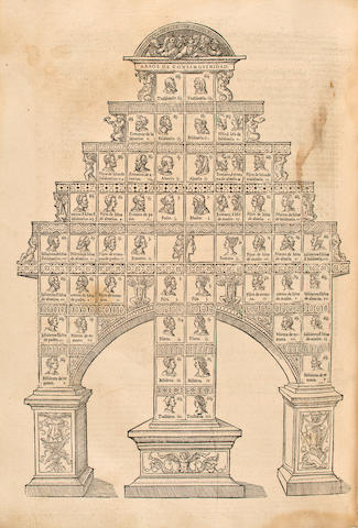 ALFONSO X, KING OF CASTILLE & LEON. 1221-1284. Las Siete partidas del Sabio Rey don Alonso el nono.... Salamanca: Andrea de Portonaris, 1555.