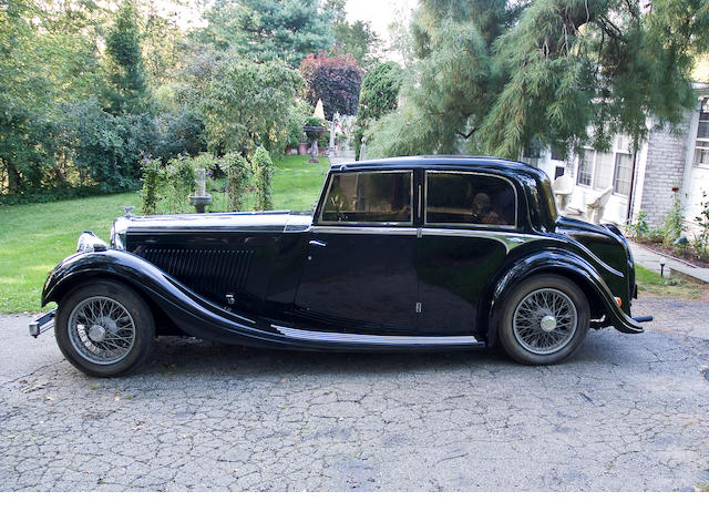 1935 Bentley 4 Door Sedan  Chassis no. B-81-FC