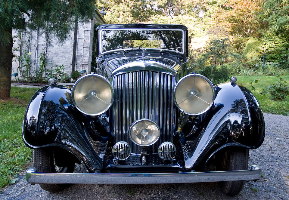 1936 Bentley 3½ Liter Sports Saloon  Chassis no. B81 FC