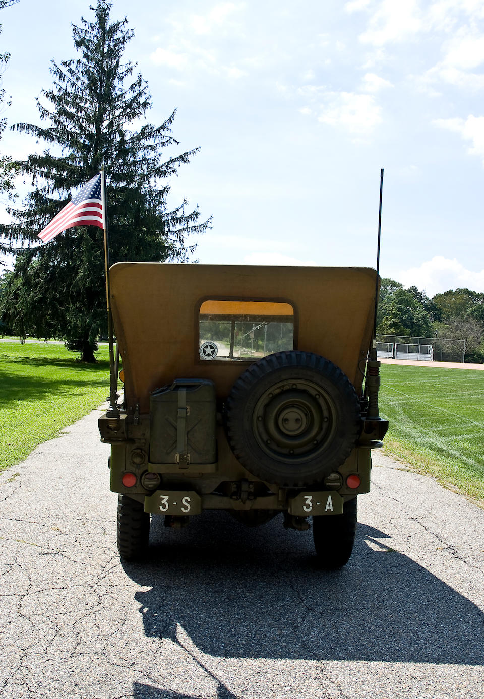 1945 Willys ¼ Ton 4x4 Type 201 'Jeep'  Chassis no. 037173