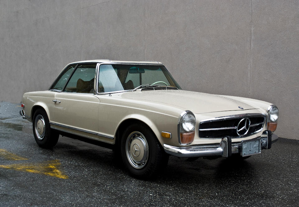 1971 Mercedes-Benz 280SL Roadster with Hard Top  Chassis no. 113 044 12 019 553