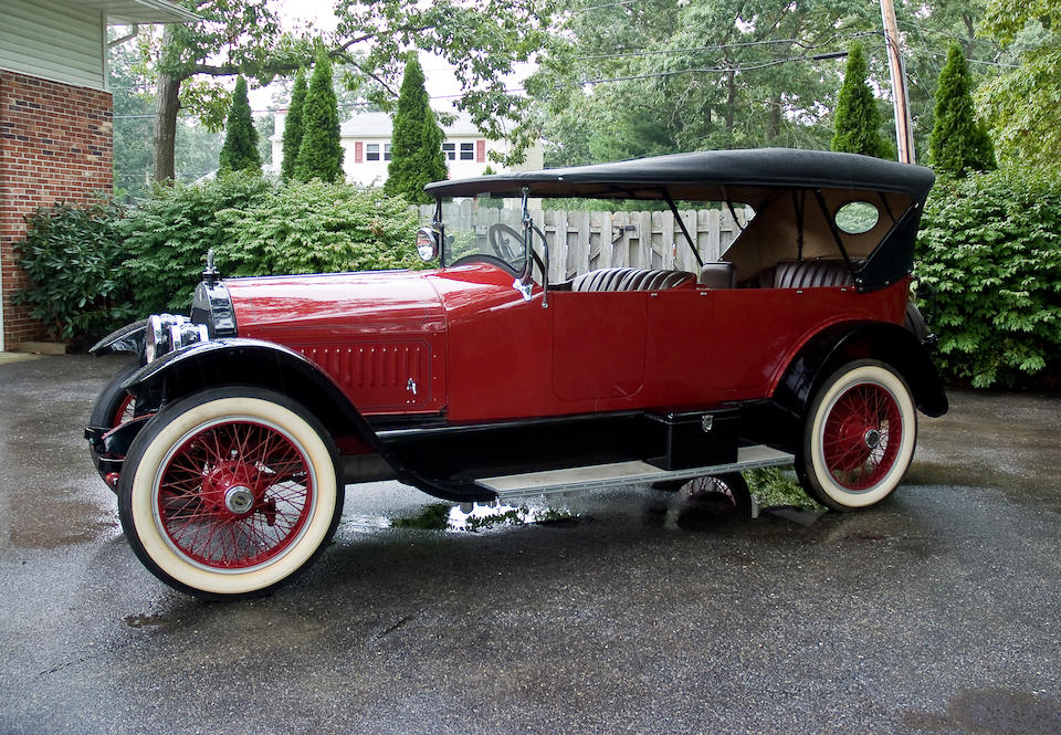 1920 Stutz Model H Touring  Chassis no. 8631