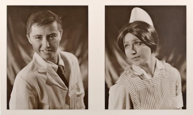 Cindy Sherman (American, born 1954); Doctor and Nurse (diptych);