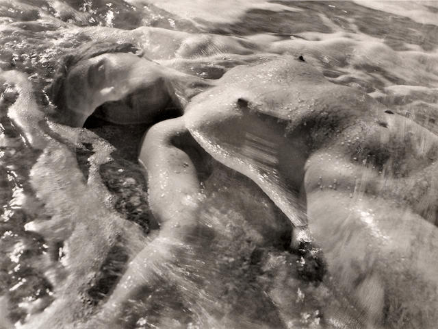 Ruth Bernhard (American, 1905-2006); In the Waves;